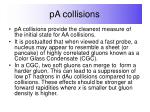 pa collisions