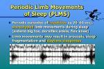 periodic limb movements of sleep plms