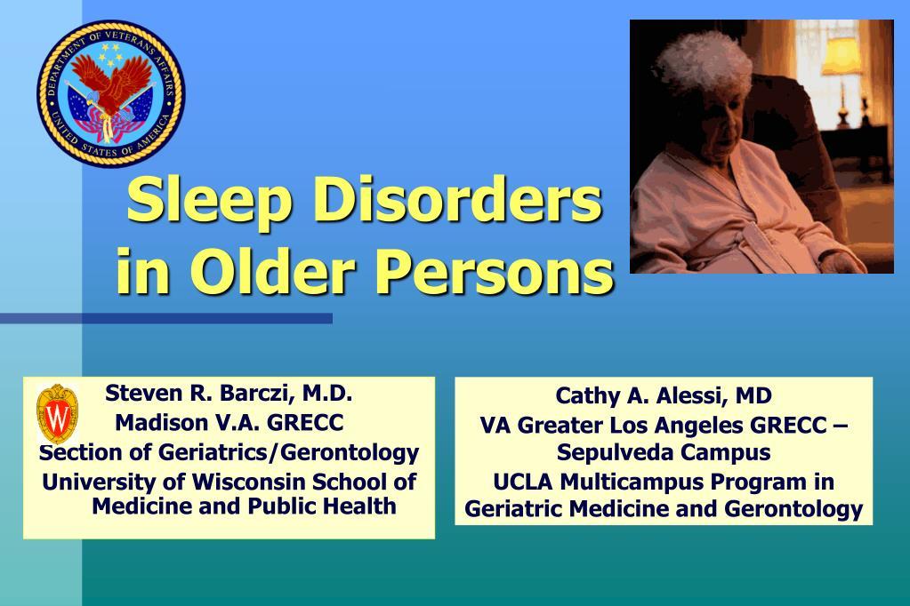 sleep disorders in older persons l.