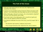 the fall of the incas