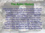 the aztec history