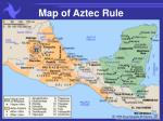 map of aztec rule