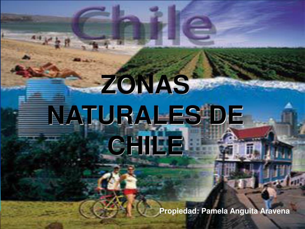 zonas naturales de chile l.