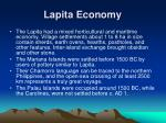 lapita economy