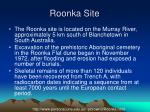 roonka site