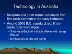 technology in australia