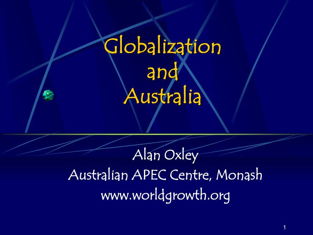 globalization and australia l.