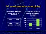 us investment now more global