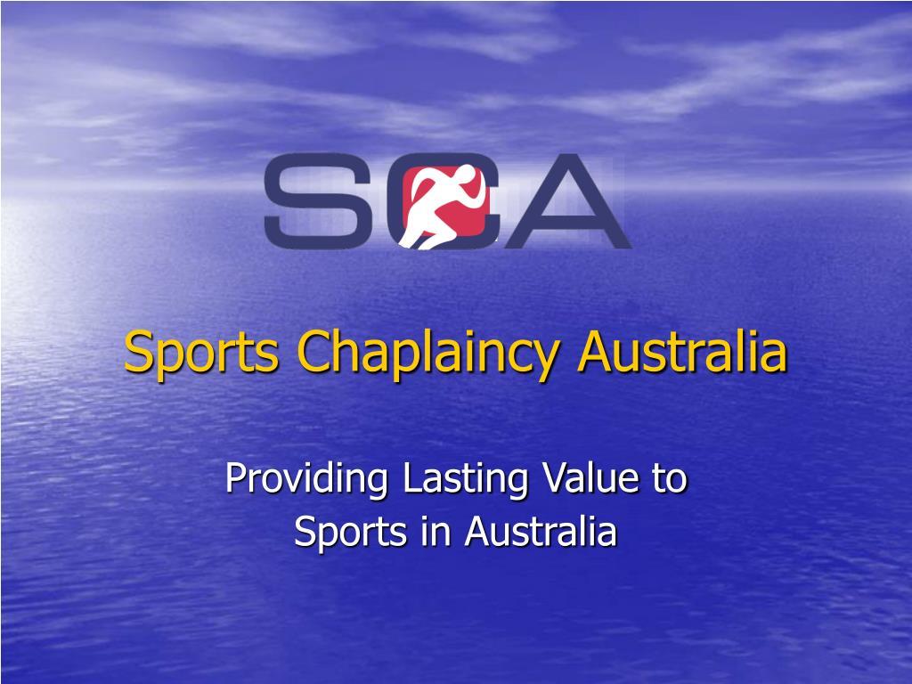 sports chaplaincy australia l.
