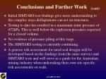 conclusions and further work25
