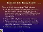 explosion tube testing results20