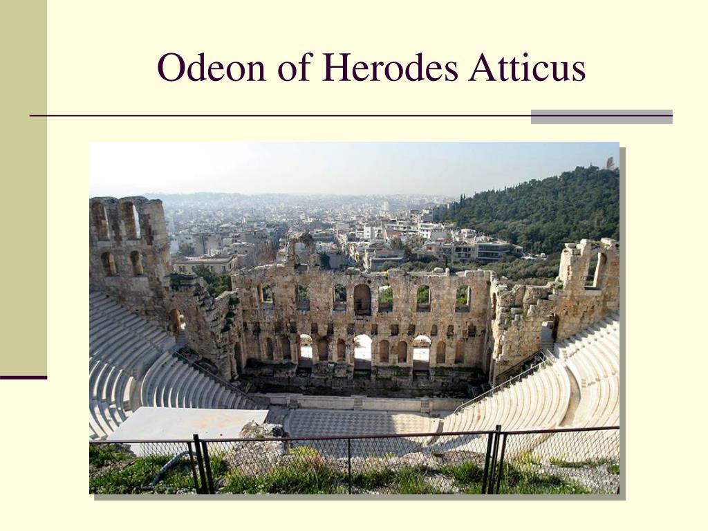 odeon of herodes atticus l.