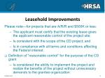 leasehold improvements12