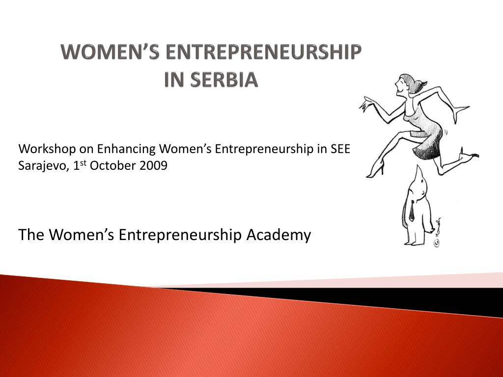 women s entrepreneurship in serbia l.