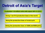 detroit of asia s target
