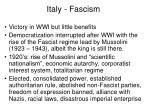 italy fascism