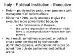 italy political institution executive14