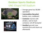 outdoor sports stadium unc chapel hill stadium