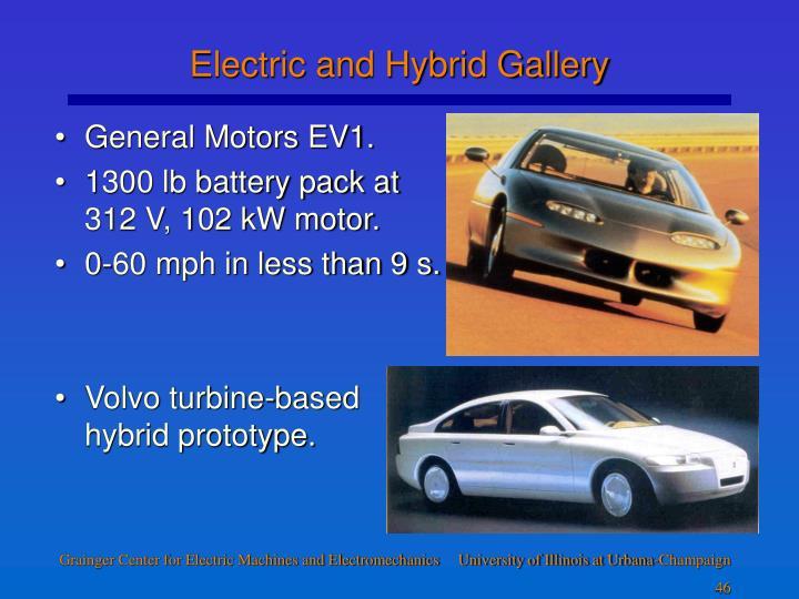 General Motors EV1.