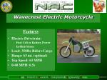 wavecrest electric motorcycle