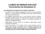 la mesa de energ a nuclear conclusiones de greenpeace i