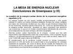 la mesa de energ a nuclear conclusiones de greenpeace y ix