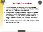 case study assumptions23