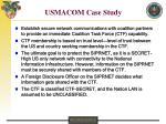 usmacom case study