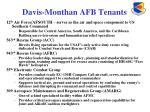 davis monthan afb tenants