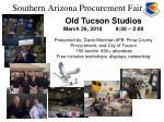 southern arizona procurement fair