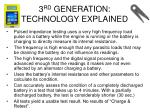 3 rd generation technology explained