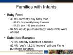 families with infants