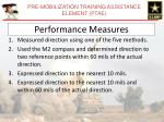 performance measures148