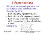 1 factorizations8