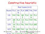 constructive heuristic19