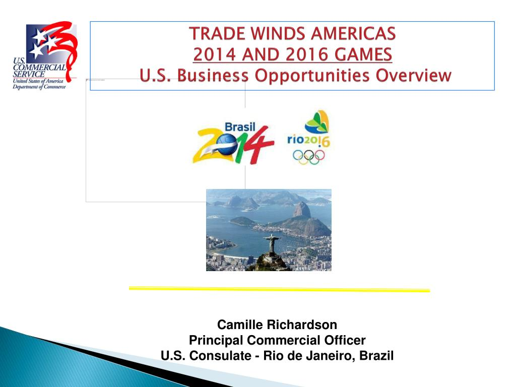 trade winds americas 2014 and 2016 games u s business opportunities overview l.