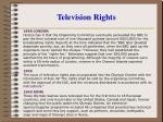 television rights