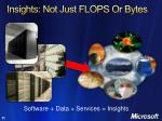 insights not just flops or bytes