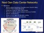 next gen data center networks