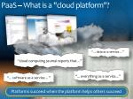 paas what is a cloud platform