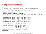 comparator example32