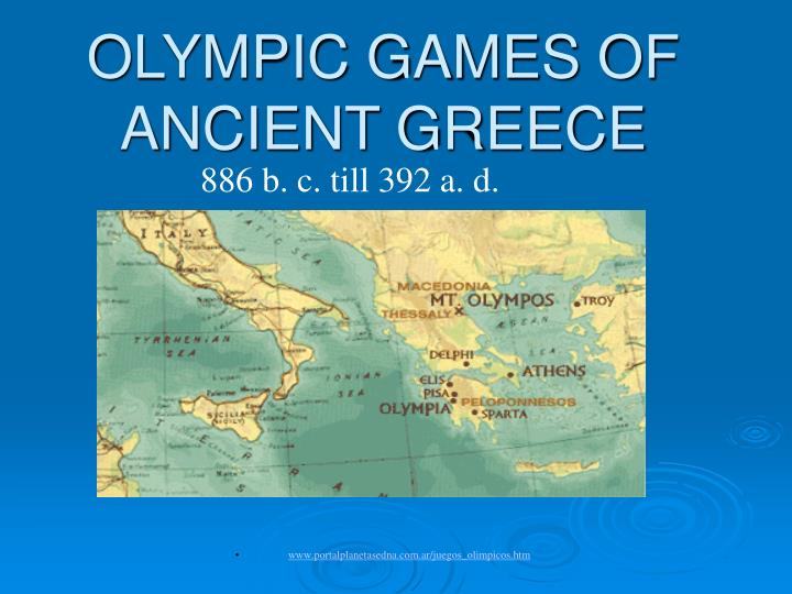 olympic games of ancient greece n.