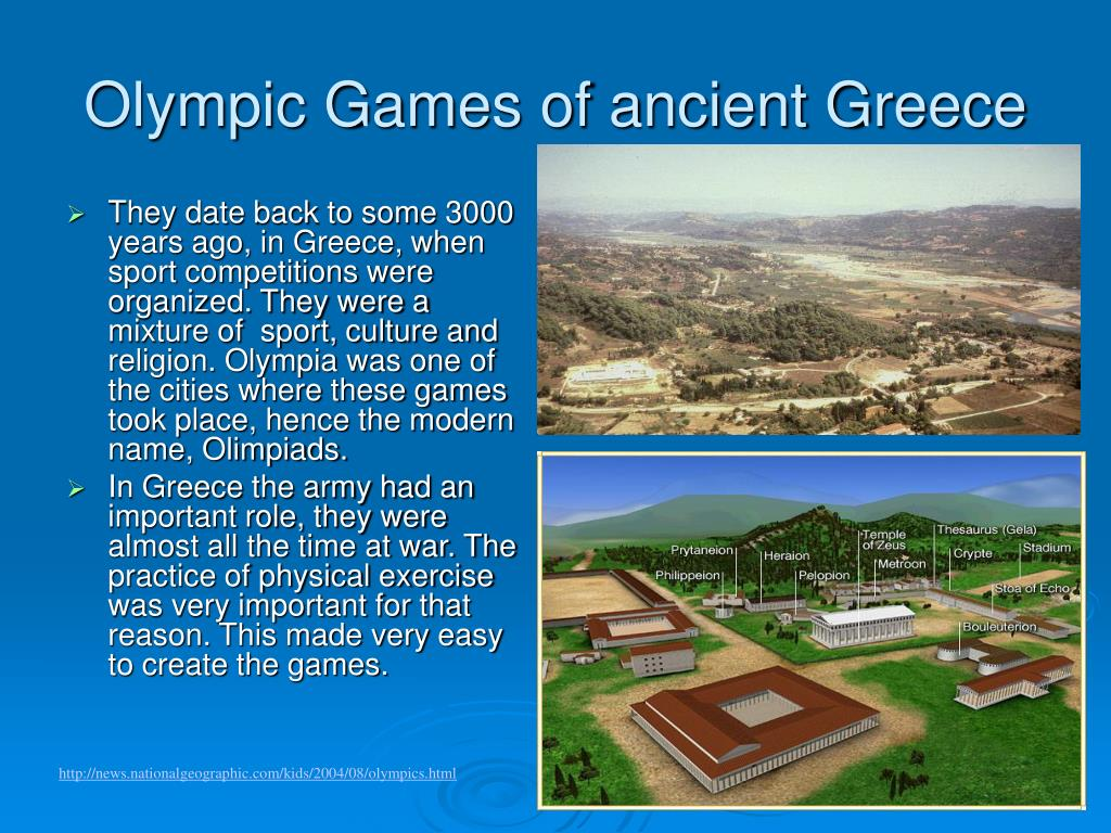 Olympic Games of ancient Greece