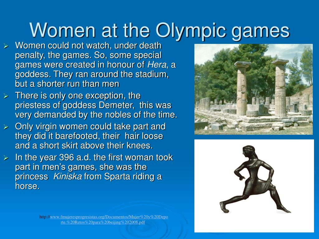 Women at the Olympic games