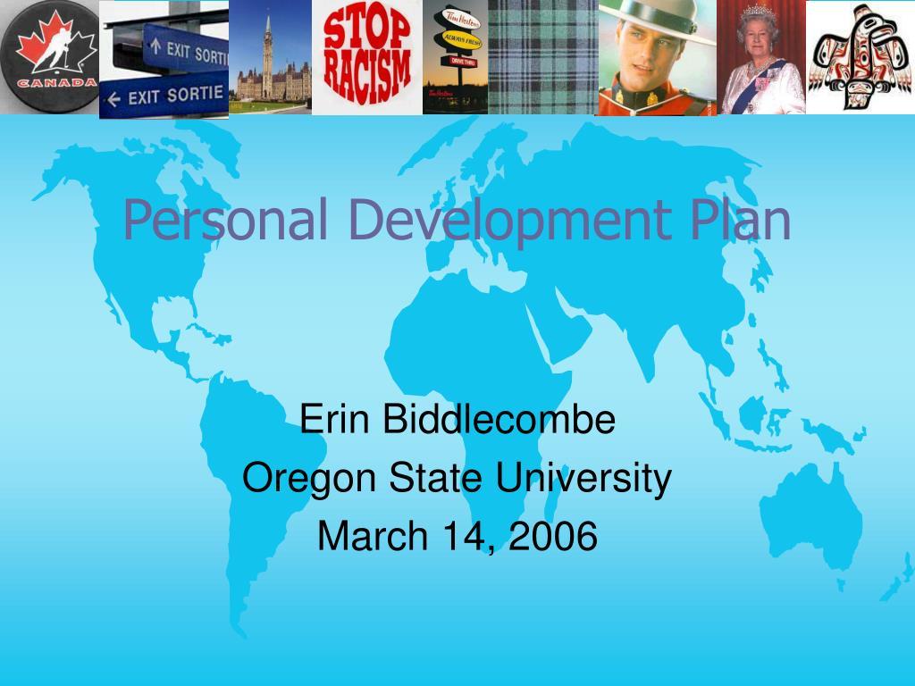 personal development plan l.
