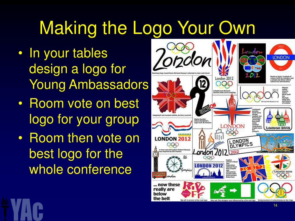 Making the Logo Your Own