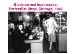 black owned businesses perfecteat shop chicago 1942