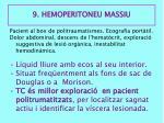 9 hemoperitoneu massiu