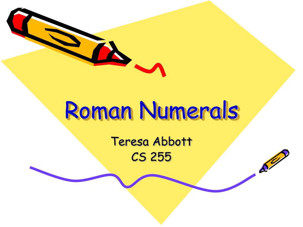 roman numerals l.