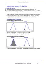 gaussian distributions probabilities